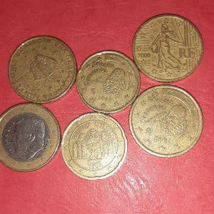 Σπανια νομίσματα ευρώ