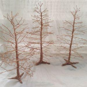 Διακοσμητικό Χειροποίητο Δέντρο απο σύρμα χαλκού