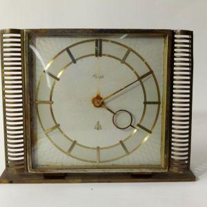 KIENZLE Art Deco 1922 Brass Mantel Clock - Henrich Moller - πολύ σπανιο ρολόι