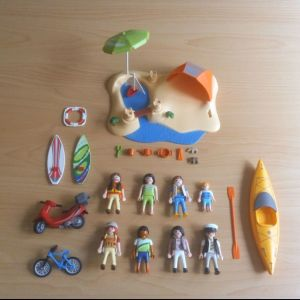 σετ και επιπλέον φιγούρες playmobil