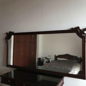 Καθρέπτης σκαλιστός ξύλινος