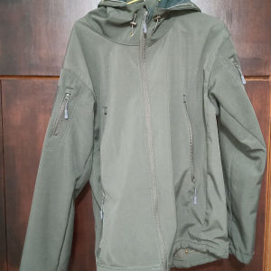 softshell fleece goretex jacket
