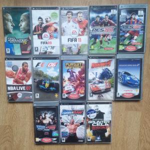 13 παιχνίδια για Sony psp .PSP games.