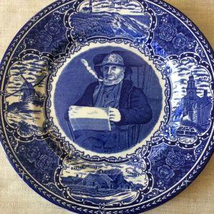 Διακοσμητικο Πιατο. Nantucket Historical Assoc. Staffordshire England