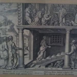 Έργο του Ολλανδού Maerten van Heemskerck (1498-1574), περί του ορισμού του Ματθαίου ως 12ου Αποστόλου.
