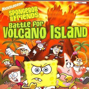 SPONGEBOB BATTLE FOR VOLCANO ISLAND - PS2