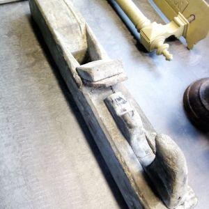 Πολύ παλιό ροκάνι ξύλινο