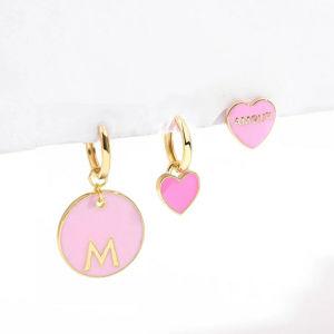 New Sweet Love Heart Drop Earrings