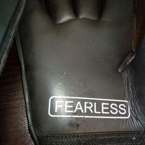 Fearless Goalkeepers 219 V Γάντια Τερματοφύλακα Ενηλίκων & Παιδικά Μαύρα