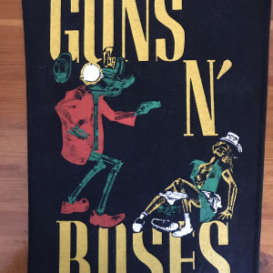 Vintage ραφτό πλάτης Guns N Roses (90s)