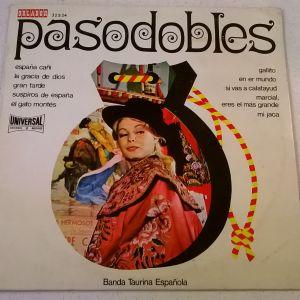 Vinyl, LP ( 1 ) Banda Taurina Espanola - Pasodobles
