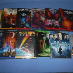 STAR TREK 12 ΤΑΙΝΙΕΣ - DVD
