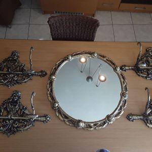 Σετ καθρέφτη  κρεμάστρες