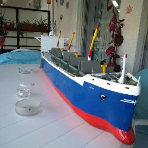 χειροτεχνία διακοσμητικό πλοίο ξύλινο.