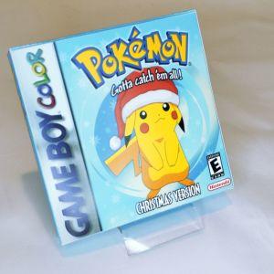 Pokemon Christmas version κασέτα & κουτάκι Game Boy Gesto_official