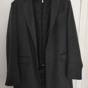 Luigi Fusaro μάλλινο παλτό