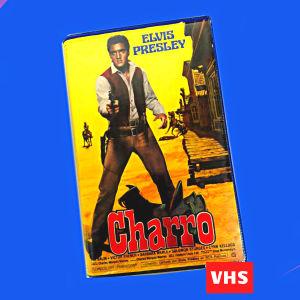 Αγγελιες Elvis Presley Ελβις Πρισλεϊ Charro βιντεοκασετα βιντεοκασσετα VHS ταινια γουεστερν western Ισπανικη Ισπανια Elvis Presley Charro western movie Spanish Spain VHS video cassette tape