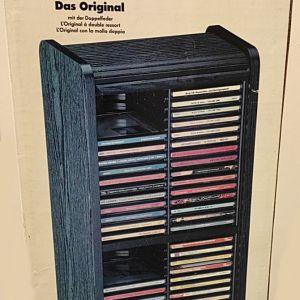 ΞΥΛΙΝΗ ΘΗΚΗ ROLLO ΓΙΑ 60 CD