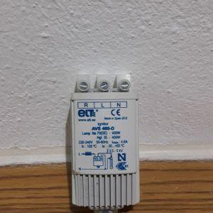 Εκκινητής - Starter AVS 70 - 400D Λάμπας Ηλεκτρονικός Νατρίου υψηλής πίεσης Μεταλλικών αλογονιδίων 70-400W