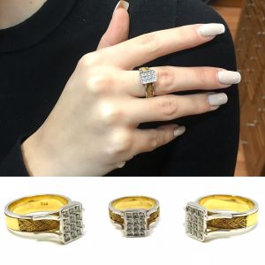 Δαχτυλιδι 18k με Μπριγιαν