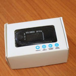 Παλμικό οξύμετρο δακτύλου με Led οθόνη και ειδοποίηση