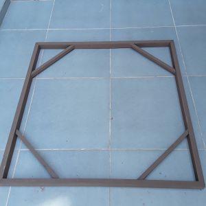 Πλαίσιο πίνακα 90χ90, ξύλινο. Κατάλληλο για κάθε είδους διάκοσμηση η κατασκευές.