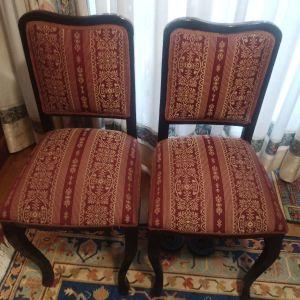 2  όμορφες καρέκλες εποχής