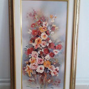 Πωλούνται 2 πίνακες ζωγραφικής διαστάσεων 60Χ30 (Πένυ Νικολάου)