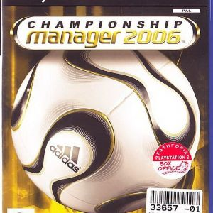 CHAMPIONSHIP MANAGER 6 - PS2