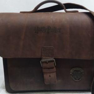 Harry potter συλλεκτική δερμάτινη τσάντα