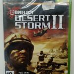 CONFLICT DESERT STORM II 2 XBOX VIDEO GAME EUROPEAN PAL SEALED NEW