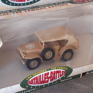 SOLIDO BATAILLES - BATTLES MILITARY μοντελο στρατιωτικου τζηπ 1/43