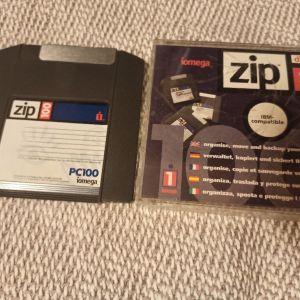 Iomega zip disk 100