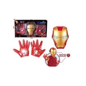 AVENGERS-IRON MAN-μάσκα και γάντια