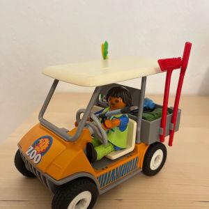 Playmobil Όχημα Φύλακα Ζωολογικού Πάρκου 6636