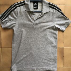 Polo γκρι μπλουζάκι «Adidas»