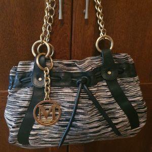 Αυθεντική τσάντα Missoni με πρόσθετο αξεσουάρ τσάντας
