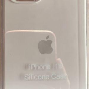 Άσπρη Θήκη σιλικόνης Apple iPhone 13 / 13 Pro/ 13 Pro Max