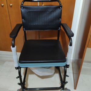 Καρέκλα/Τουαλέτα τροχήλατη