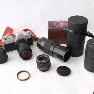 Mamiya 500 dtl Αναλογική φωτογραφική μηχανή για σπουδαστές φωτογραφίας και λάτρεις της φωτογραφίας