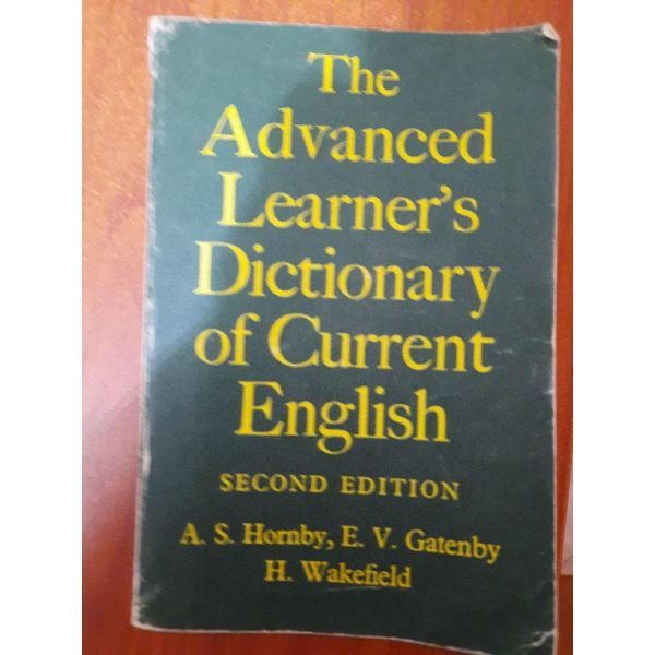 """""""The Advanced Learner's Dictionary of Current English"""""""