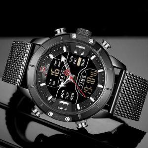 NAVIFORCE Men's Watch Luxury Brand Waterproof