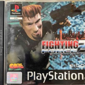 Fighting Force 2 - Psx 1 game