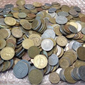 400 Ελληνικά νομίσματα