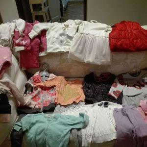 Πακέτο ρούχων  για κορίτσι 9-12 μηνών 20 τεμάχια