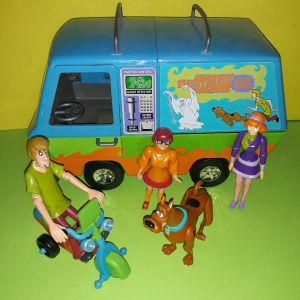 Scooby doo όχημα & φιγούρες