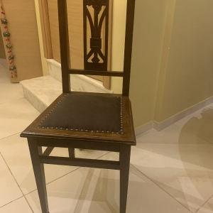 4 καρέκλες ξύλινες