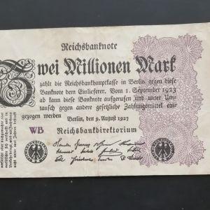 Χαρτονόμισμα Συλλεκτικό Γερμανιας.