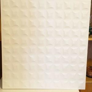 3 λευκά επιτοίχια ντουλάπια IKEA Besta.