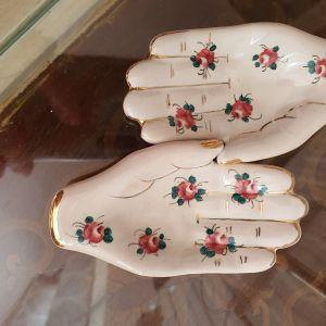 Διακοσμητικα χερακια Πορσελάνη